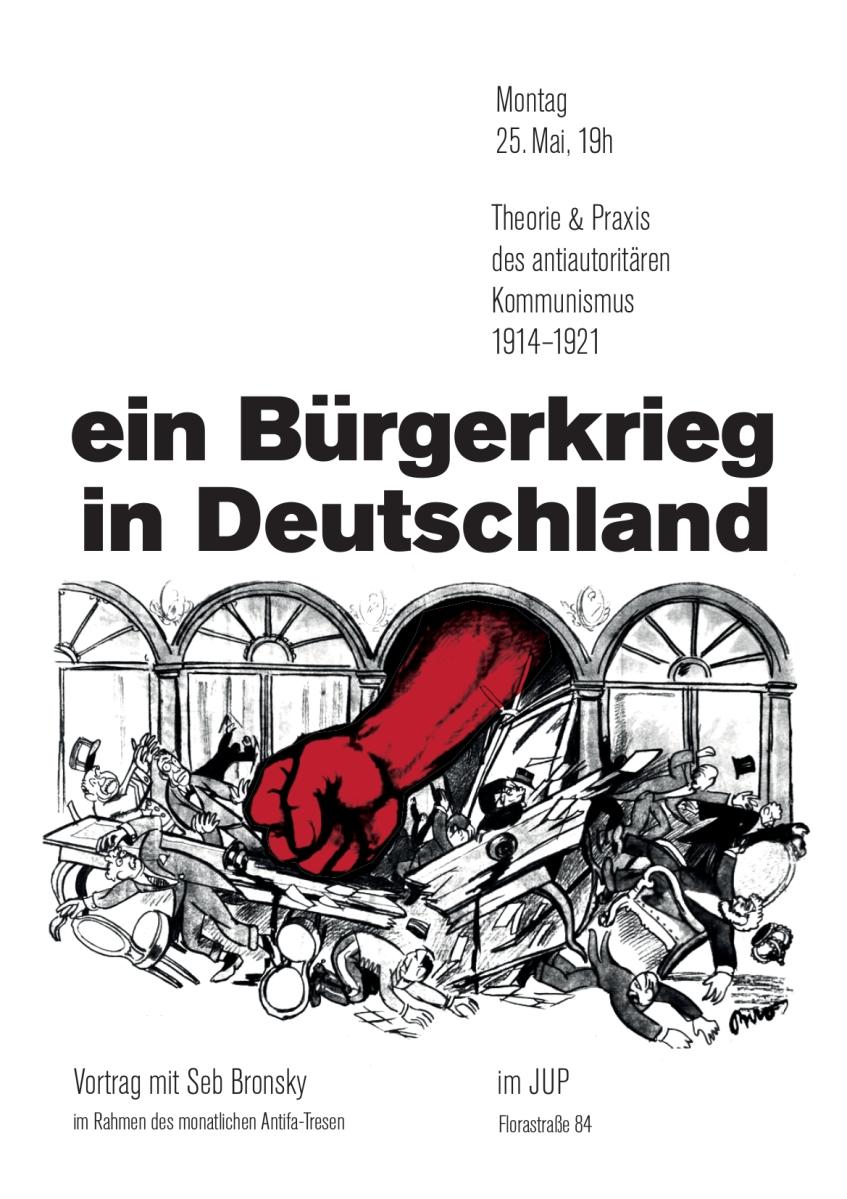 bürgerkrieg in deutschland rot